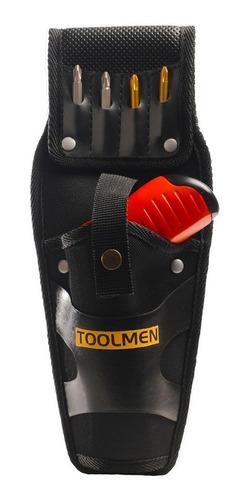 cartuchera porta atornillador toolmen t59 para cinturón
