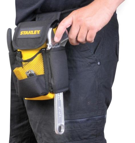 cartuchera porta herramientas para cinturón stanley 9 pulg.