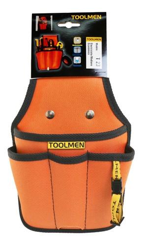 cartuchera porta herramientas toolmen t23 mediano económico