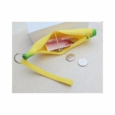 cartuchera / portacosmético con forma de banano diversion