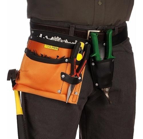 cartuchera portaherramientas toolmen t97 con cinturon