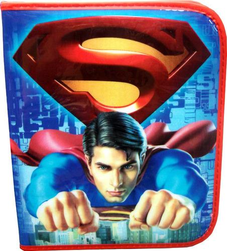 cartuchera superman ! 1 piso oferta! jugueteria minijuegos!
