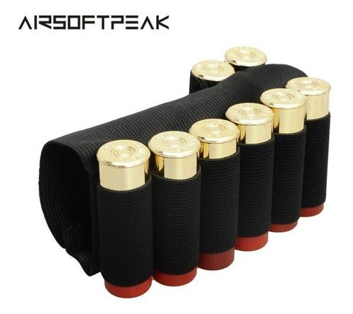 cartuchera tiros 16 12 y 20  culata d escopeta funda cazeria