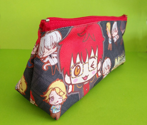 cartuchera triangular de mystic messenger