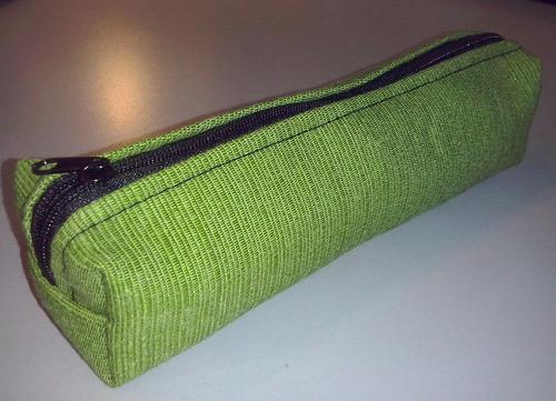 cartuchera tubo en diferentes telas y colores!