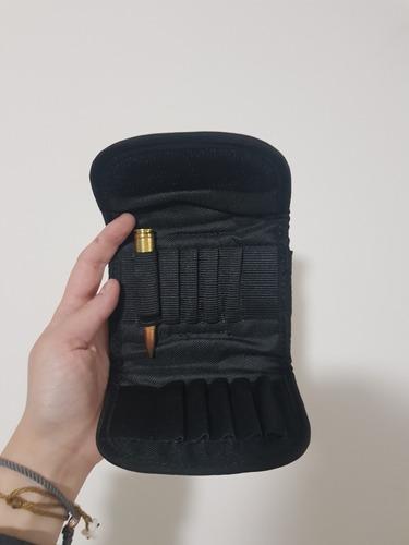 cartuchera universal rifle tiro y caceria