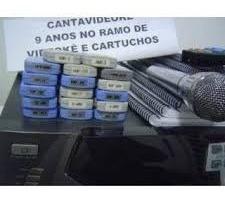 cartucho 01 videoke 3700 com 400 canções