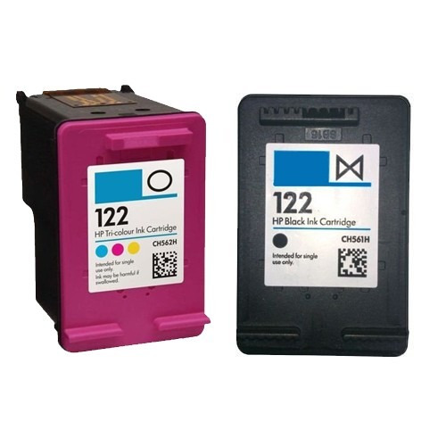 cartucho 122 preto 122 colorido impressora deskjet 3050