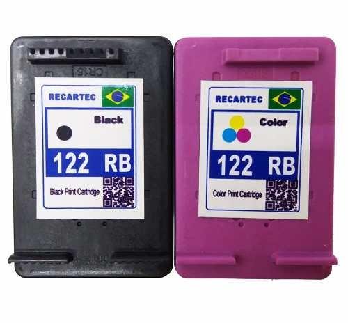 cartucho 122 preto e 122 colorido imp. deskjet 2050
