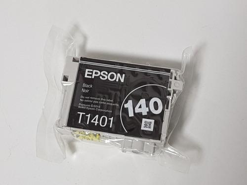 cartucho 140 t140 t1401 black preto original epson