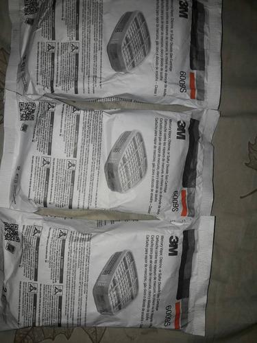 cartucho 3m 6009s contra cloro mercurio y dióxido de azufre