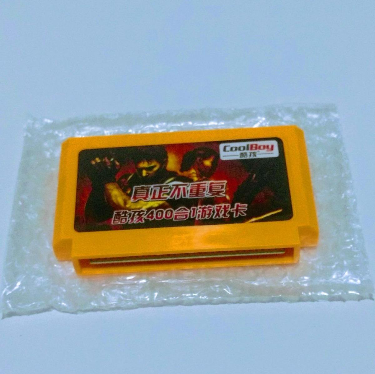 Cartucho 400 Em 1 Nintendinho Nes Famicom - Nenhum Repetido