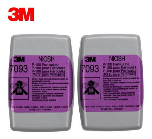 cartucho 7093 3m para partículas y neblinas con o sin aceite