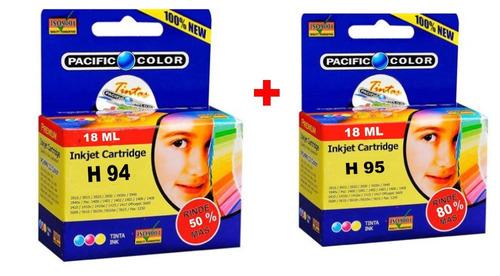 cartucho alternativo 94xl (50% mas tinta) + 95xl (80% mas)