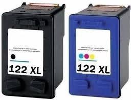 cartucho alternativo para 122xl negro+color 3050 2050