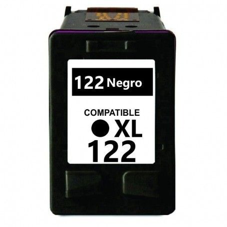 cartucho alternativo tinta impresora 122 122xl negro 3050