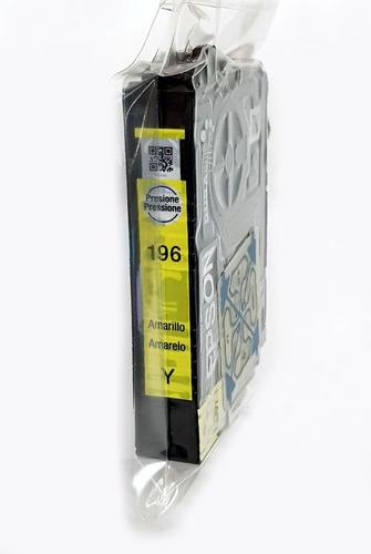 cartucho amarelo original epson 196 xp204 xp104 t196420