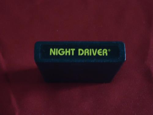 cartucho atari (game program) night driver
