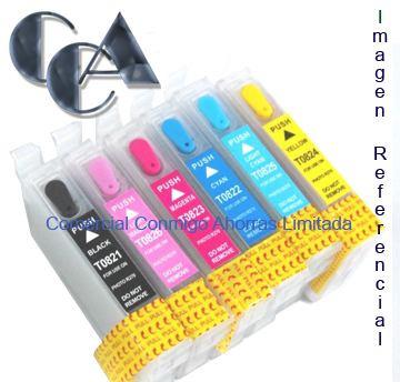 cartucho autoreseteable sin esponja r270-r290-rx590-rx610