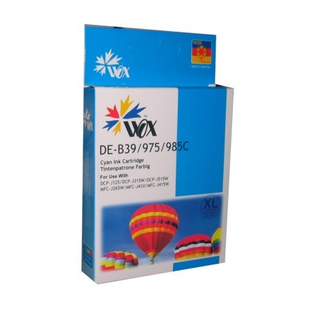 cartucho brother dcp-125 cyan lc985c