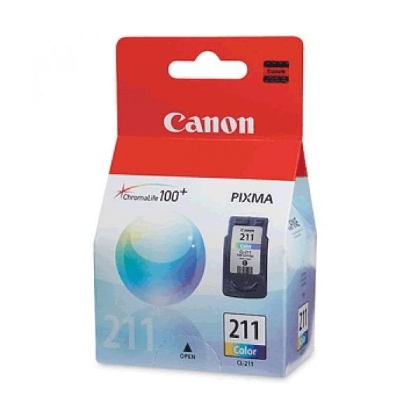 Resultado de imagen para cartucho canon 211 color