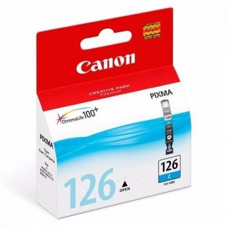 cartucho canon cli-126 cyan