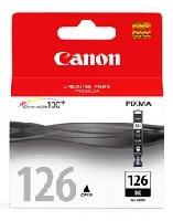 cartucho canon cli-126 negro p/ip4810,mg5210,mg6110