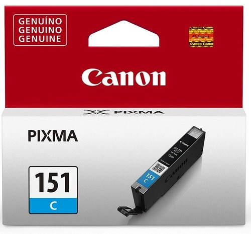 cartucho canon cli-151 cyan