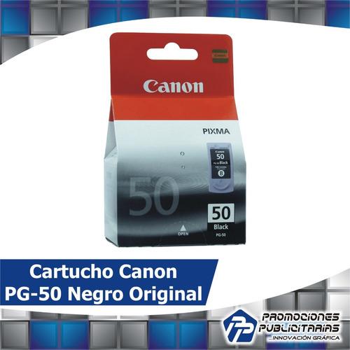 cartucho canon pg-50 negro original 22 ml. nuevo sellado