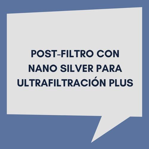 cartucho carbón en línea nano silver antibact vulcano 600024
