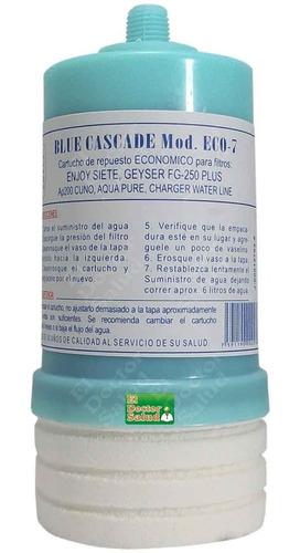 cartucho carbón estándar eco7 cw2 filtros agua planta ozono