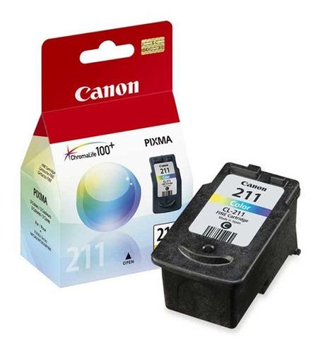 cartucho color canon cl211 mp240 mp250 mp490 mp320 nnet