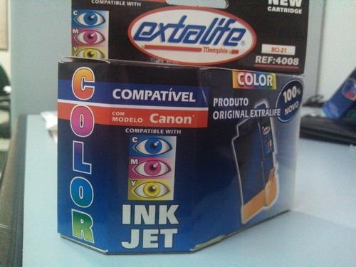 cartucho color extralife para canon - ref: 4015