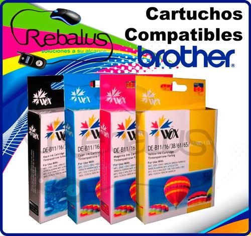 cartucho compatible brother