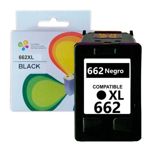 cartucho compatible hp 662 xl negro 1015 1515 nuevo bagc