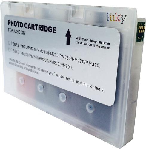 cartucho compatible t5846 para eps picturemate 225
