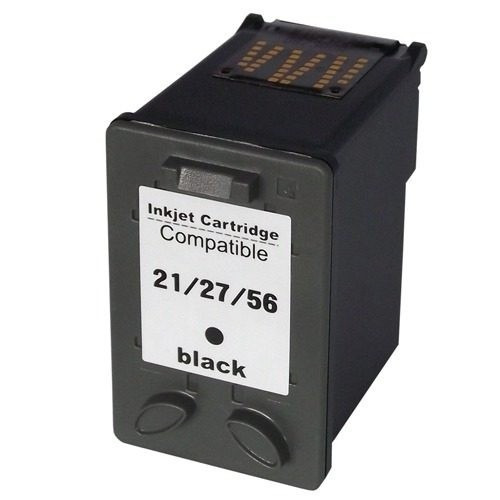 cartucho compativel hp 21 bk c9351a 3040 3910 3915 3920 3930