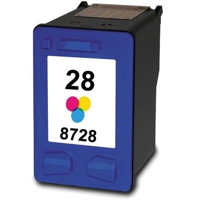 cartucho compatível hp 28 color c8728a 350 5850 psc 1210