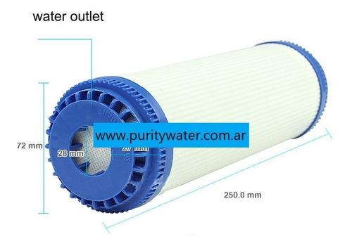 cartucho de carbon activado industrial agua pura