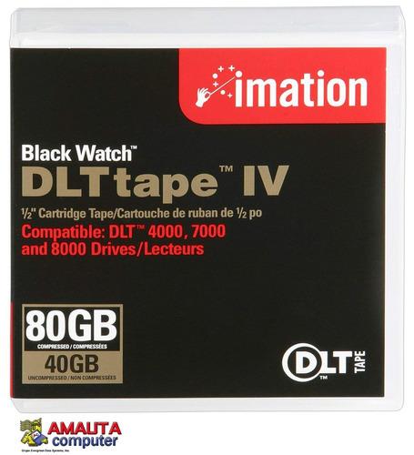 cartucho de datos dlt iv tape backup 35gb 70gb imation 11776