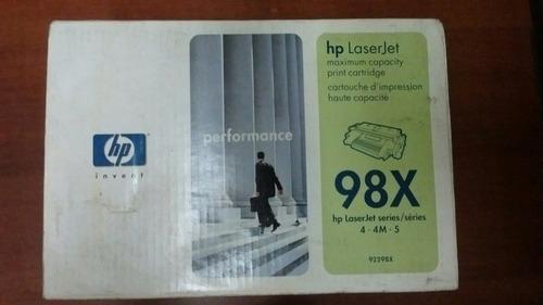 cartucho de impresión hp 98x