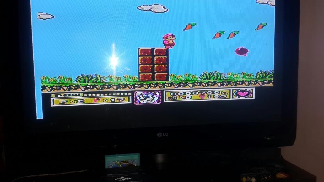 Cartucho De Juego Mario Bros 6 Tiny Toon Para Family Game 219 99