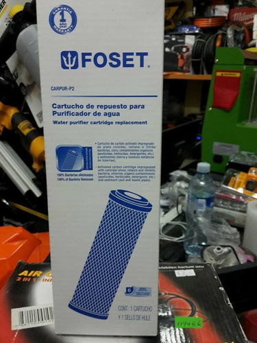 cartucho de repuesto para purificador carpur-p2  foset