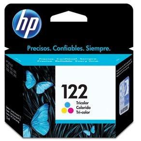 cartucho de tinta 122 ch561hb preto+122 ch562hb tricolor hp
