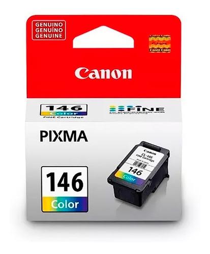 cartucho de tinta canon cl-146 color