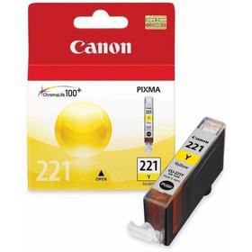 Cartucho De Tinta Canon Cli-221y Amarillo