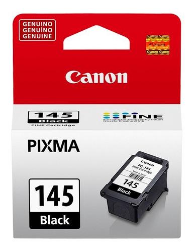 cartucho de tinta canon pg-145 negro original