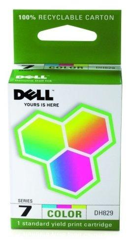 cartucho de tinta de color de capacidad estándar dell comput
