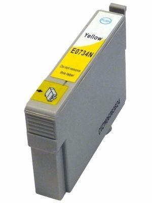 cartucho de tinta epson t0734/t0734n (73/73n) amarelo