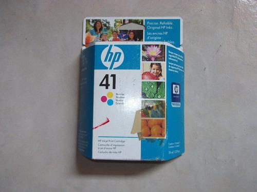 cartucho de tinta hp 41  51641a      vbf